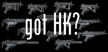 Machine Guns for sale - View our new HK Collection